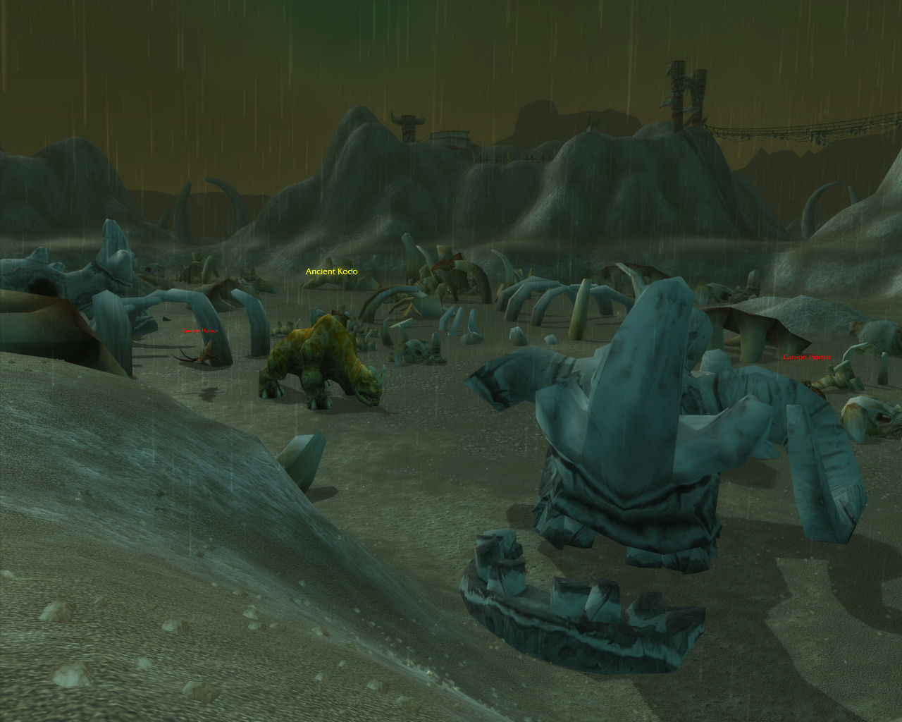 The Kodo Graveyard in Desolace.