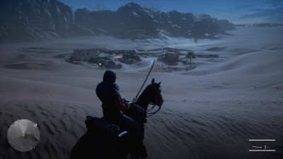 Doing a little scouting for Lawrence of Arabia in BF1's single player campaign.