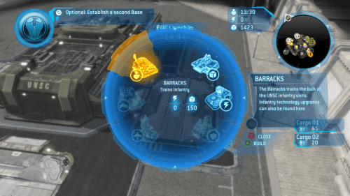 The console control scheme makes excellent use of radial menus.