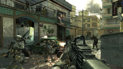 Looks shocking similar to other recent Call of Duty games, eh?