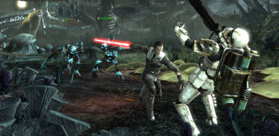 You even kill a ton of Stormtroopers when you work for the Empire. I love Star Wars games!