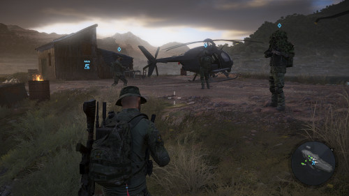 My crew about to head out on another raid.