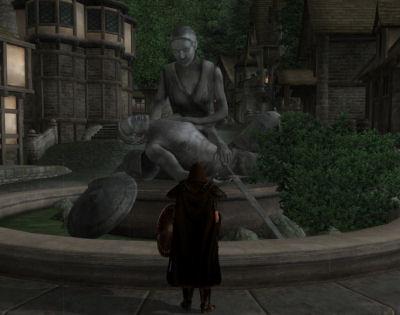 Sweet statue...