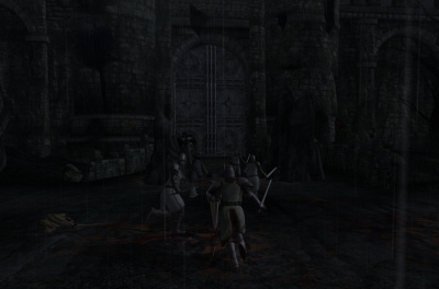 Charging into Kvatch!