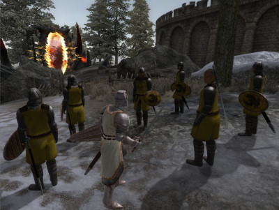 Preparing to assault the Bruma gate.