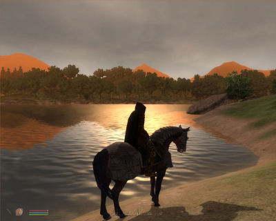 Riding off into the sunset.