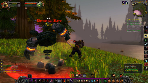 Much, much later, grinding in the Alterac Mountains.