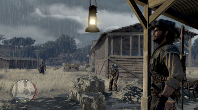 John Marston, brooding in the rain...