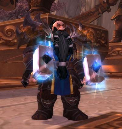 Meet Gulgrim, Dwarf rogue.