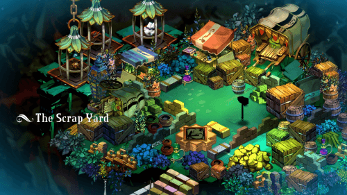 Even Bastion's junk yards are beautiful.