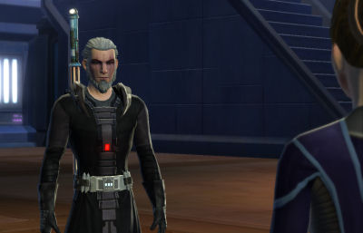 I actually modeled my Sith Inquisitor after my old UO character.