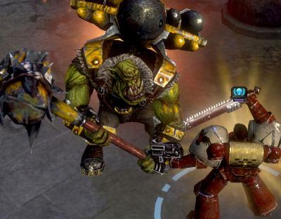 Orks iz strong!