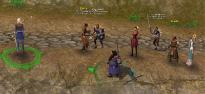 One of my guild leveling pact group's early outing.