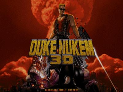 The original, pre Atomic Edition title screen.