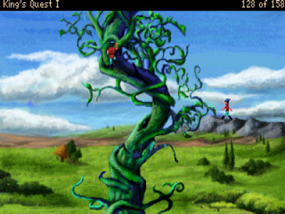The infamous (and breathtaking) beanstalk.