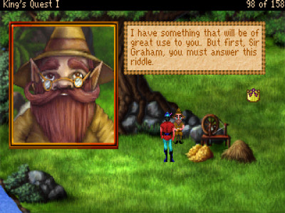 If you don't hate this little bastard you've probably not played King's Quest.