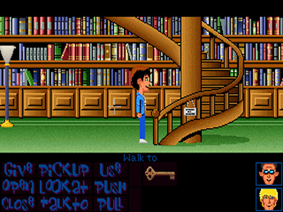 Maniac Mansion Deluxe.