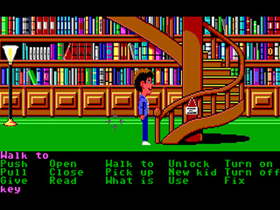 Maniac Mansion Enhanced.