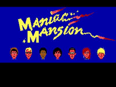 Maniac Mansion!