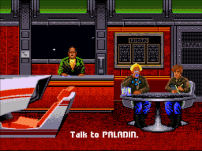 The Tiger's Claw bar - SNES