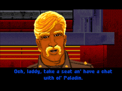 Talking to Paladin - SNES