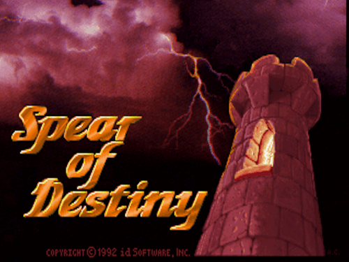 ...and Spear of Destiny!