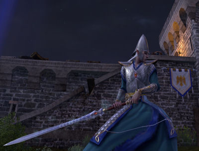 My Swordmaster alt posing in Nordenwatch.