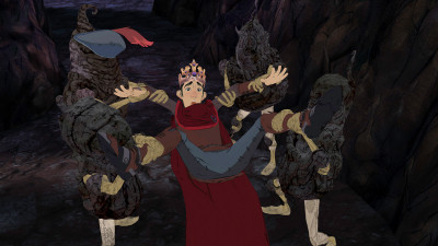 King's Quest almost looks animated, a la Dragon's Lair, in stills.