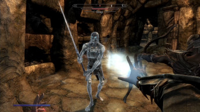All Draugr really need is hugs. Hugs and lightening bolts.