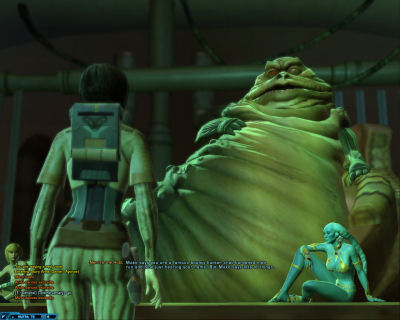 An audience with Nem'ro the Hutt.